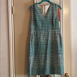 Kate Spade ♠️ grid dress